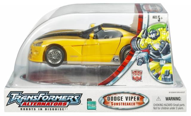Alternators Sunstreaker - Dodge Viper - MIB