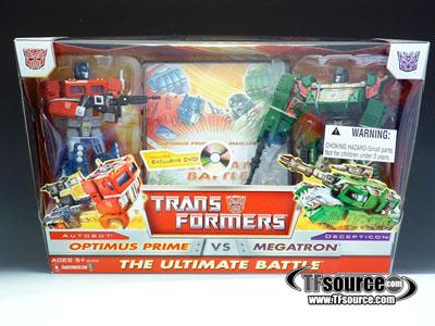 Classics - Optimus Prime vs. Megatron - MISB