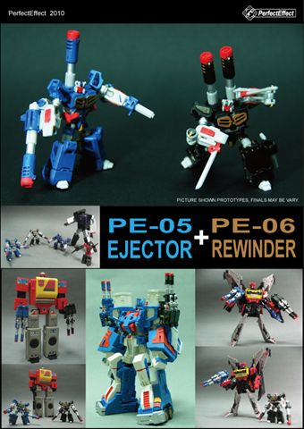 PE-05 & PE-06 - Perfect Effect - Rewinder & Ejector Set