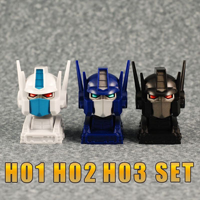H01 H02 H03 - iGear - Animated head for MP Prime Set