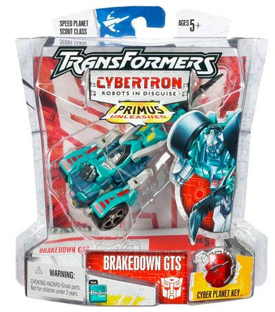 Cybertron - Brakedown GTS - MOC