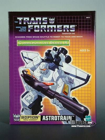 Transformers Reissue G1 Astrotrain | Commemorative Series