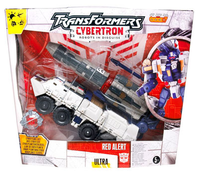 Cybertron - Cybertron Defense Red Alert - MISB