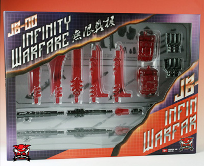 JB-00 - Infinity Warfare Upgrade Kit - Red Version