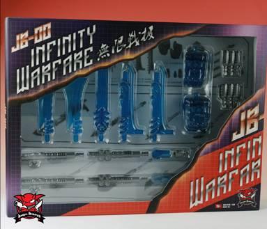 JB-00 - Infinity Warfare Upgrade Kit - Blue Version - MIB