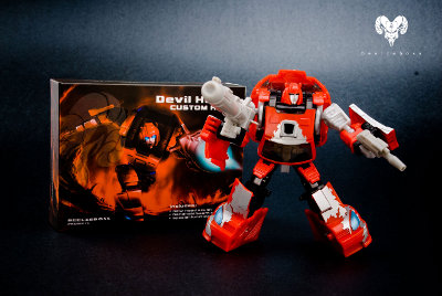 Classics Cliffjumper - Devil Horns - Custom Kit