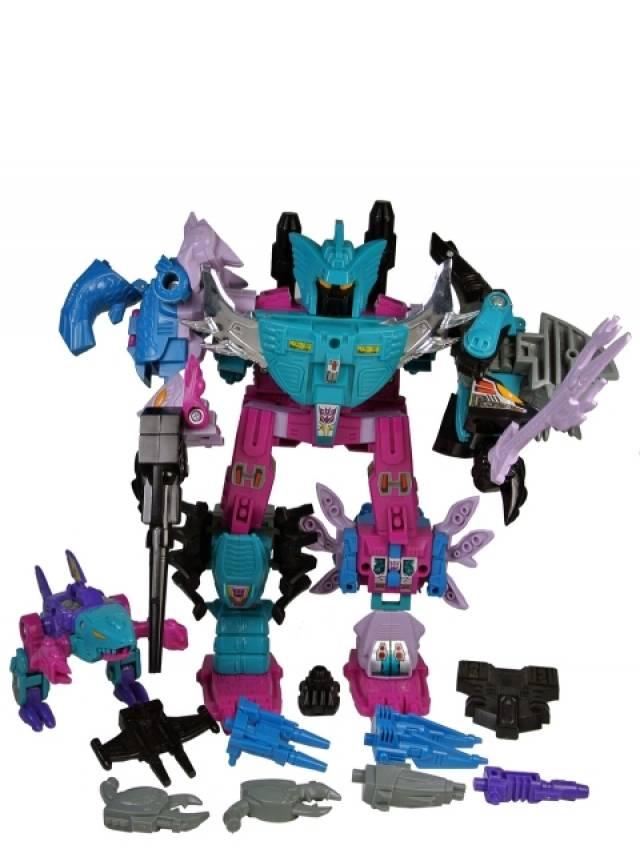 Transformers G1  - Piranacon - Loose - As-Is