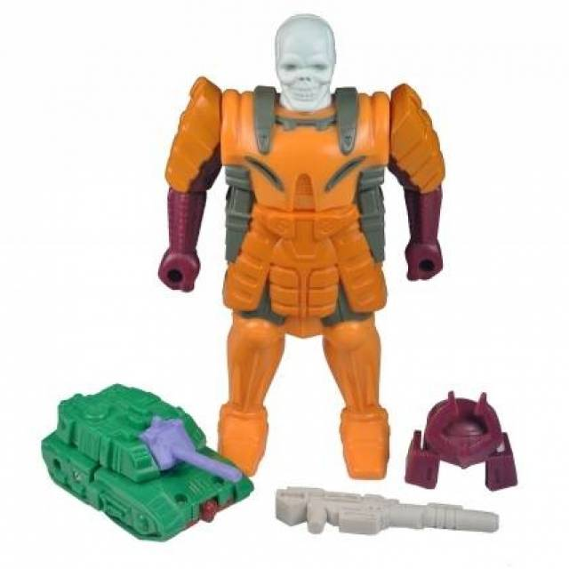 Transformers G1  - Bludgeon - Pretender - Loose - 100% Complete