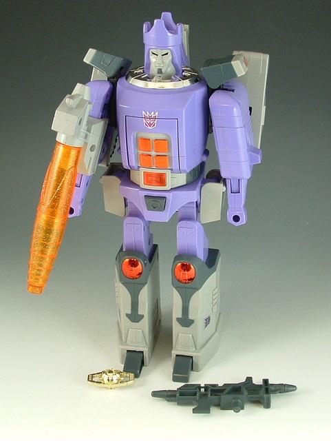 Reissue - D-62S Purple Galvatron - Loose - Near Complete