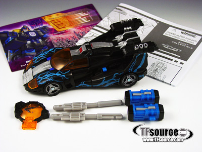 Botcon 2008 - Shattered Glass Blurr - Loose - 100% Complete