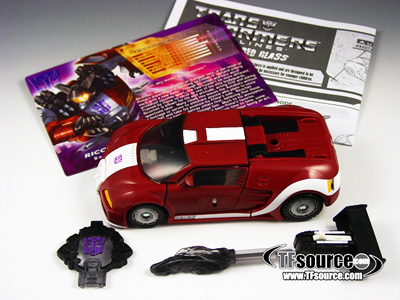 Botcon 2008 - Shattered Glass Ricochet - Loose - 100% Complete
