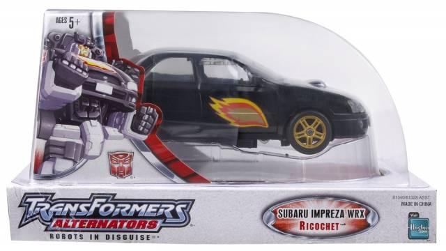 Alternators - Ricochet Subaru Impreza WRX - MIB - 100% Complete