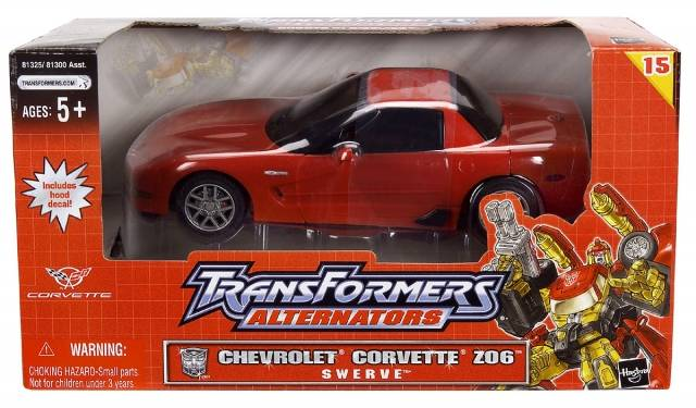 Alternators - Swerve - Chevrolet Corvette - MIB - 100% Complete