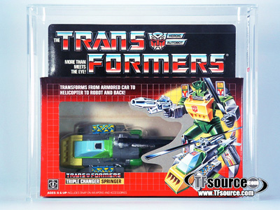 Transformers G1 - Boxed - Springer - AFA 85