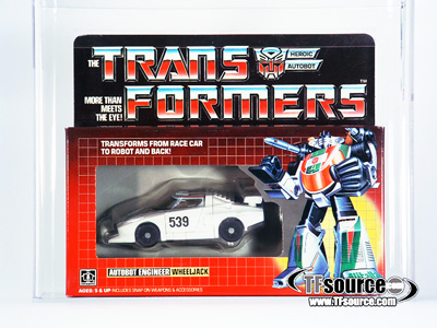 Transformers G1 - Boxed - Wheeljack - AFA 85