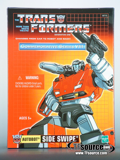 Reissue Commemorative Series - Sideswipe - 2nd Wave