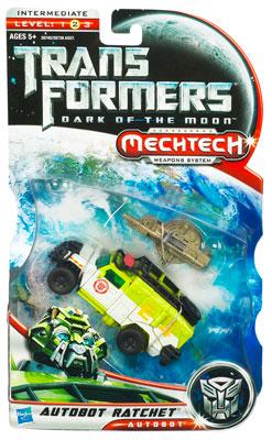 DOTM - Mechtech Deluxe Class - Autobot Ratchet - MOSC