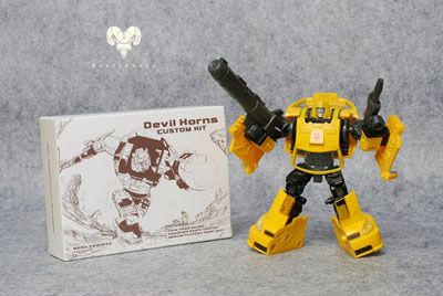 Classics Bumblebee - Devil Horns - Custom Kit - Yellow Version