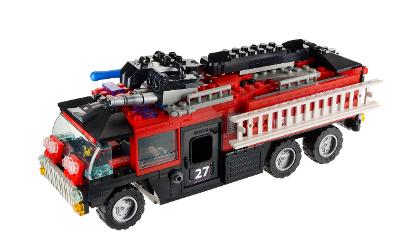 KRE-O - Transformers - Sentinel Prime - Fire Truck
