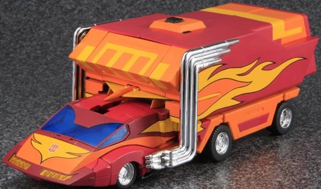 MP-09 Masterpiece Rodimus Prime - 2nd Edition - MIB - 100% Complete