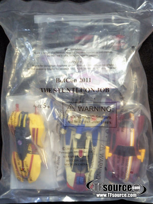 Botcon 2011 - Exclusive Bagged Set - Stunticon Set