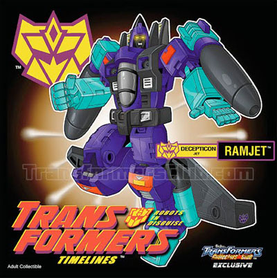 TFCC 2011 Exclusive - G2 Ramjet - MIB