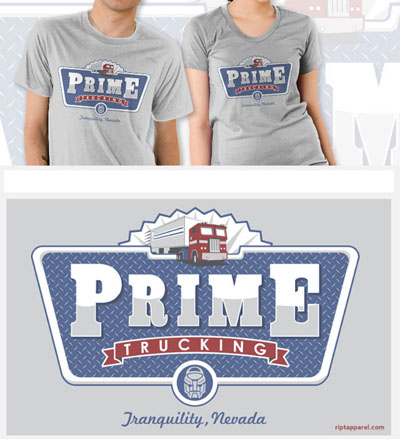 Prime Trucking T-Shirt - Grey