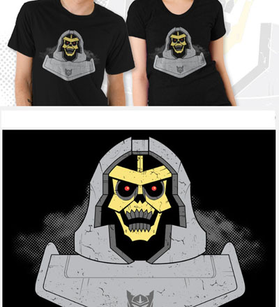 Skeletron T-Shirt - Black