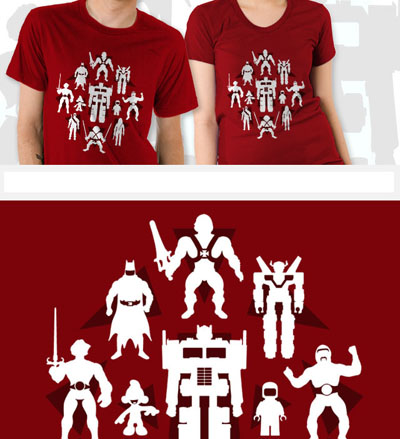 Plastic Heroes T-Shirt - Red
