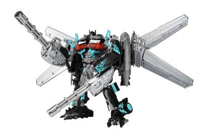 DOTM - Exclusive Dark Nightwatch - DA-15 Jetwing Optimus Prime