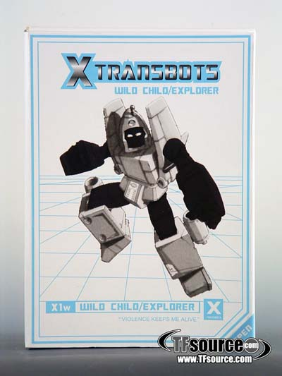 Xtransbots - X1w - Wild Child Explorer