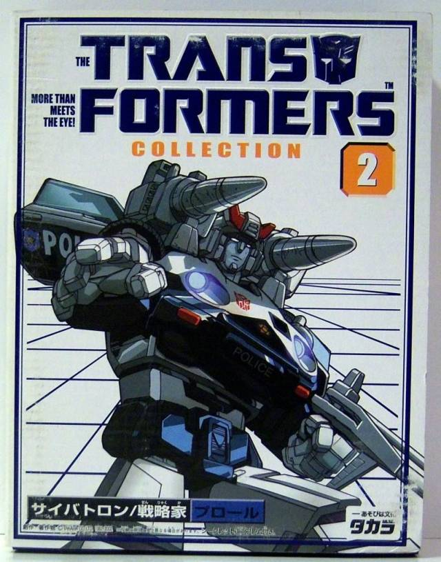 Reissue - Transformers Collection - TFC #02 Prowl - MIB - 100% Complete