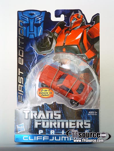 Transformers Prime - First Edition - Cliffjumper