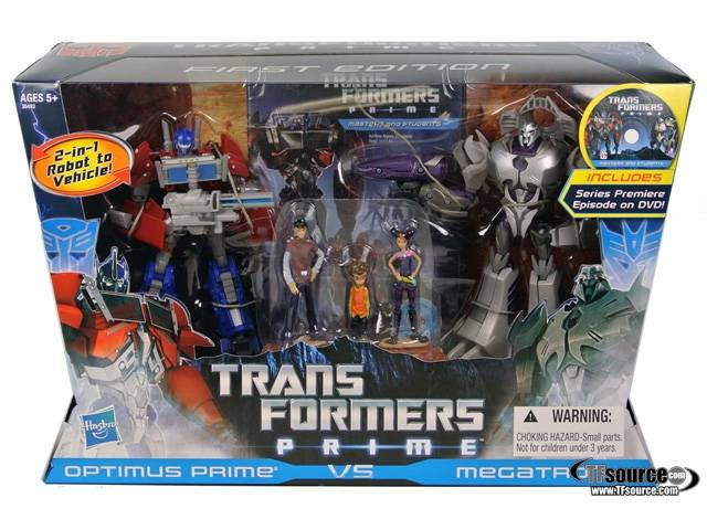 Transformers Prime Entertainment Pack - First Edition