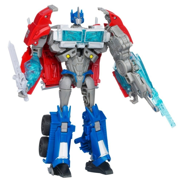 Transformers Prime Voyager Series 01 - Optimus Prime - First Edition - MIB