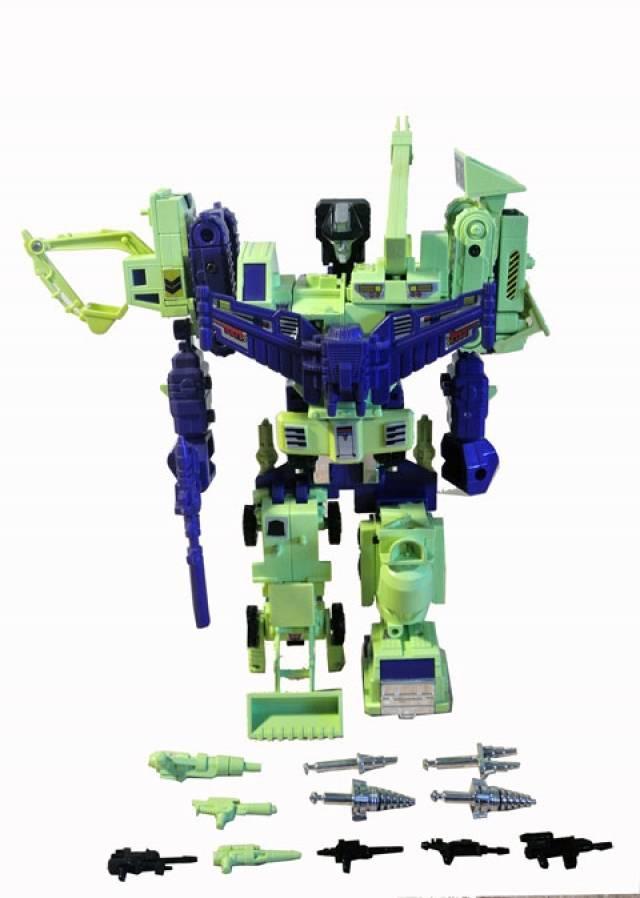 Transformers G1  - Devastator - Loose - 100% Complete