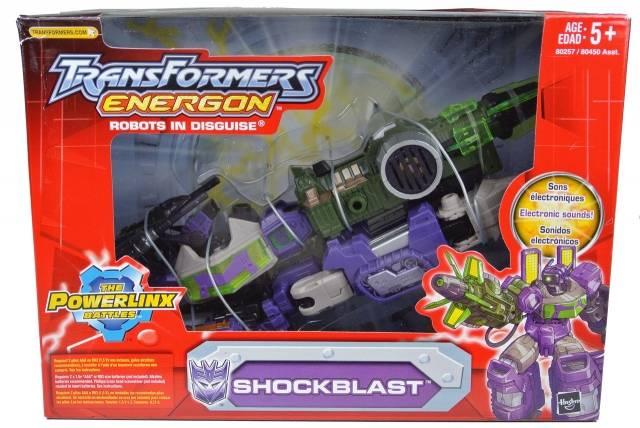 Energon - Shockblast - MISB
