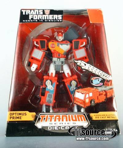 Titanium - Robots in Disguise - Optimus Prime - MISB