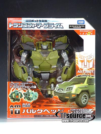 Japanese Transformers Prime - AM-10 - Bulkhead