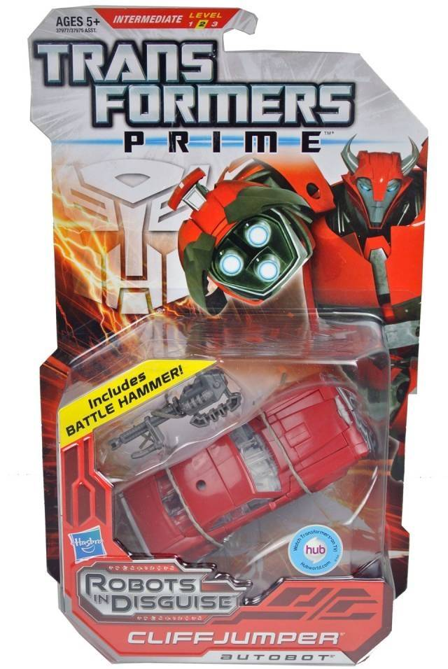 Transformers Prime Deluxe Series 01 - Robots in Disguise - Cliffjumper