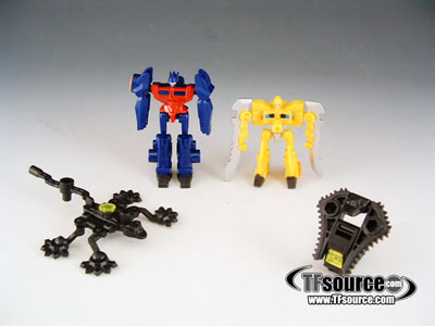 Japanese Transformers Prime - Arms Micron - Set of 4 Weapons