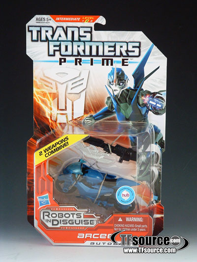 Transformers Prime Deluxe Series 02 - Robots in Disguise - Arcee