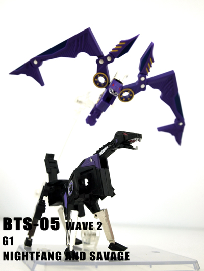 BTS-05 Wave 2 - Nightfang and Savage