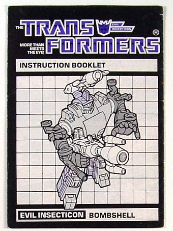 Instruction Manual - Bombshell - Grade B