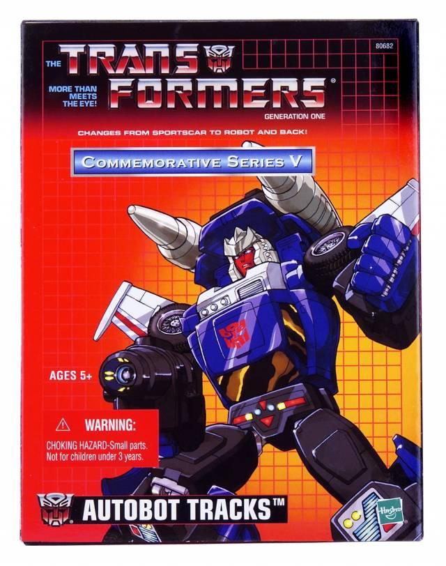 Reissue Commemorative Series - Autobot Tracks - MIB - 100% Complete