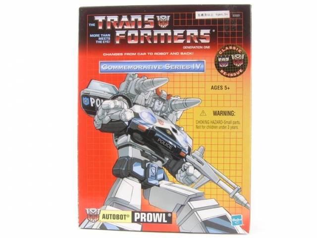 Reissue Commemorative Series - Prowl - MIB - 100% Complete