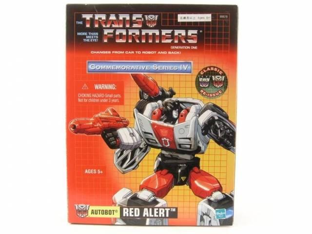 Reissue Commemorative Series - Red Alert - MIB - 100% Complete