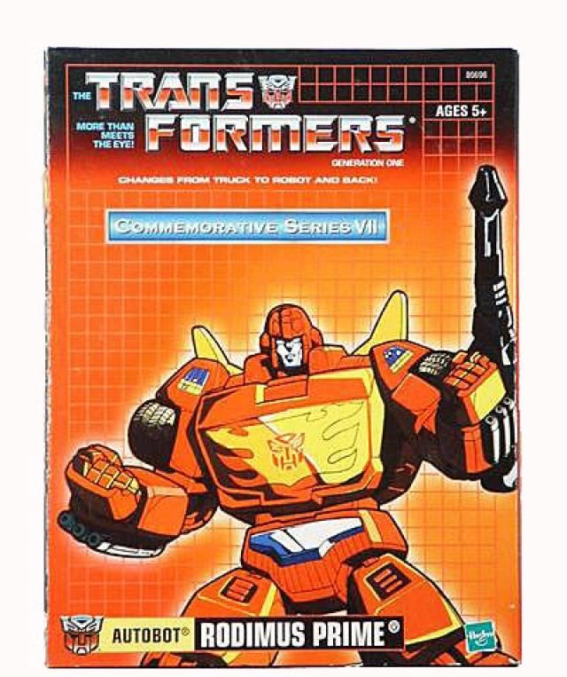 Reissue Commemorative Series - Rodimus Prime - MIB - 100% Complete