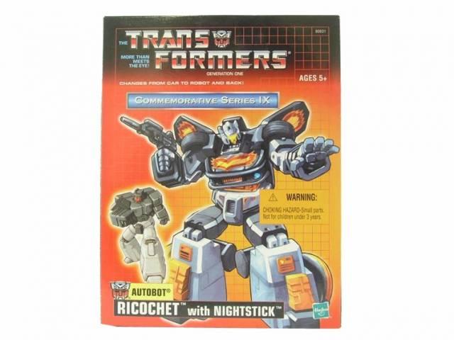 Reissue Commemorative Series - Ricochet w Nightstick - MIB - 100% Complete