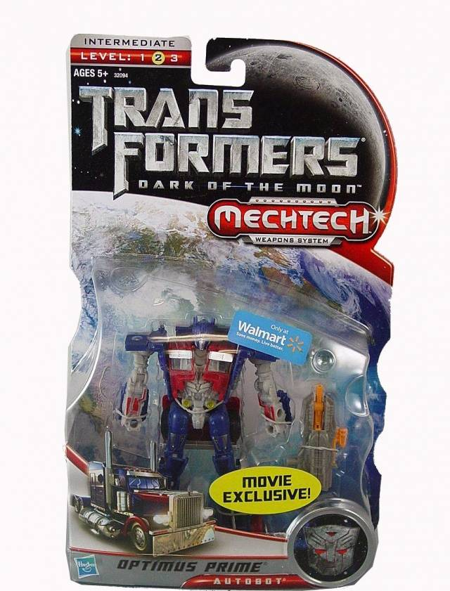 DOTM - Optimus Prime - Wal-Mart  Exclusive
